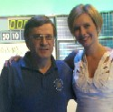 Tony with Rachel Riley